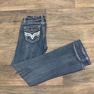 L.A IDOL juniors jeans medium wash size 11